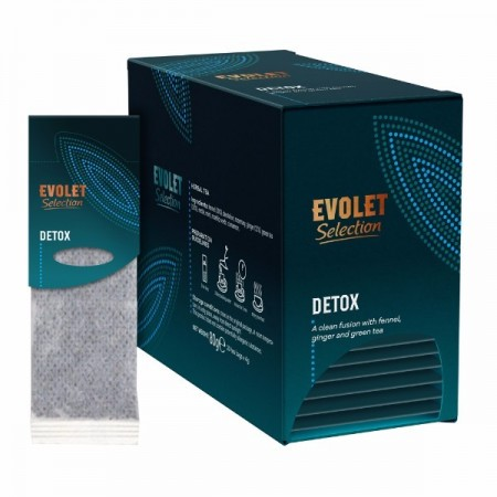 Ceai plicuri Detox Grand Pack, Evolet Selection