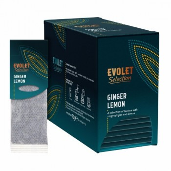 Ceai plicuri Ginger Lemon Grand Pack, Evolet Selection