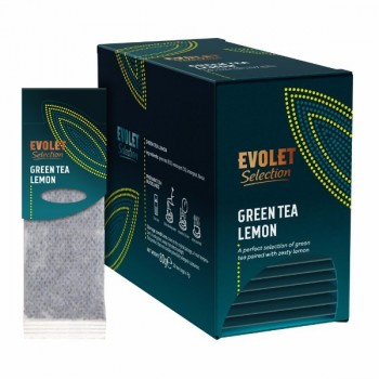 Ceai plicuri Green Tea Lemon Grand Pack, Evolet Selection