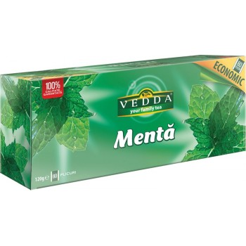 Ceai traditional de menta, plicuri - economic