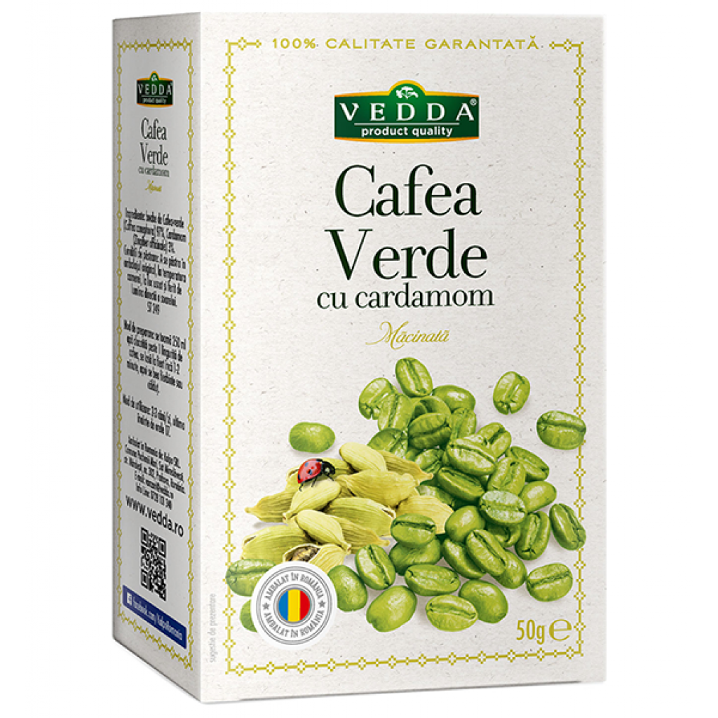 cafea verde boabe green life