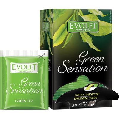 Evolet Green Sensation, Ceai Verde