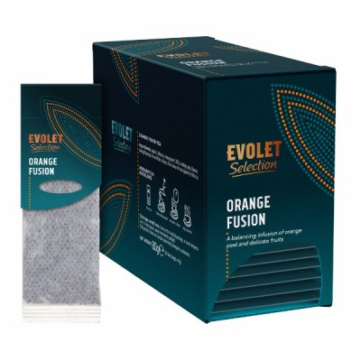 Ceai plicuri Evolet Selection Grandpack, Orange Fusion
