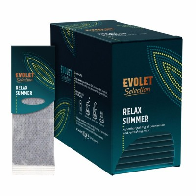 Ceai plicuri Evolet Selection Grandpack, Relax Summer