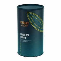 Ceai pentru infuzie la tub Evolet Selection, Green Tea Lemon