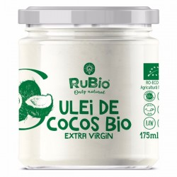 RuBio SuperFoods - Ulei de cocos bio 175ml