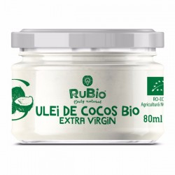 RuBio SuperFoods - Ulei de cocos bio 80ml